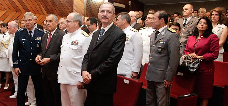 Ministro da Defesa Aldo Rebelo destaca desafios na ESG