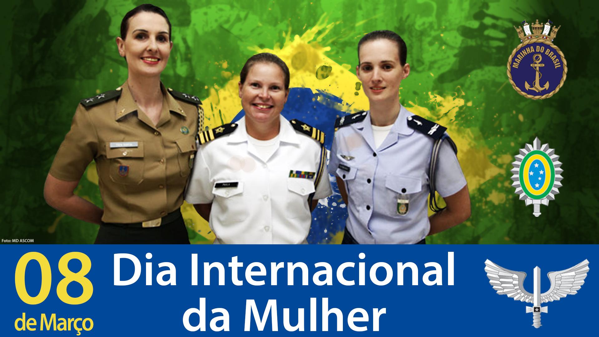 Homenagem da Editora Itta e Folha Militar a todas as Mulheres nesse dia especial