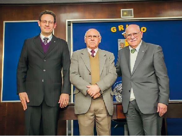 Dr. Guilherme Zanchi, Gen De Nardi e Dr. Vitor Chiesa