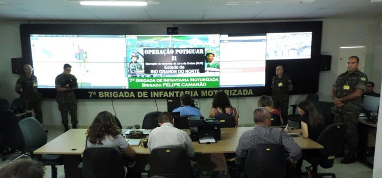 Comando da Operação Potiguar II apresenta um balanço das ações