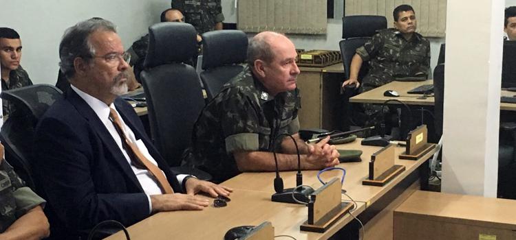 Ministro Jungmann acompanha o início da operação Potiguar 2