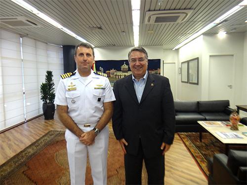 Governador de Santa Catarina recebe visita