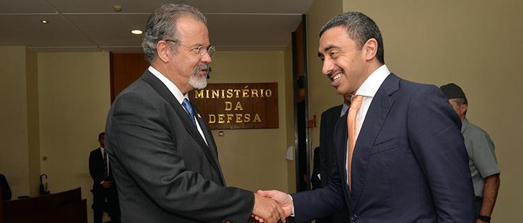 Ministro Jungmann recebe ministro