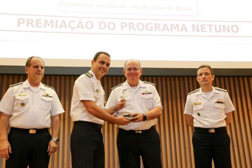 Centro de Intendência da Marinha em Natal recebe Prêmio Excelência em Gestão