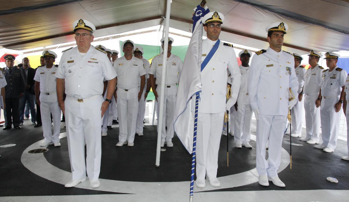 Com9ºDN recebe visita do Comandante da Marinha Almirante de Esquadra Eduardo Leal Ferreira