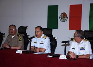 Estado-Maior Conjunto das Forças Armadas realiza Primeira Reunião de Estados-Maiores México e Brasil