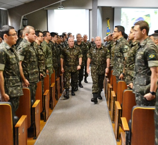 General de Exército, Fernando Azevedo e Silva, profere palestra na EsAO