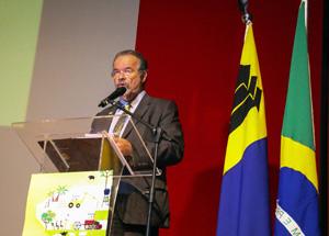 Ministro da Defesa, Raul Jungmann, em Rondônia inaugura placa pelos 50 anos do Projeto Rondon