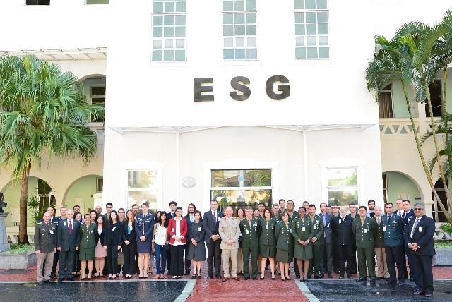 CCOPAB promove na ESG  Workshop Internacional de Proteção Integrada de Civis em missões de paz