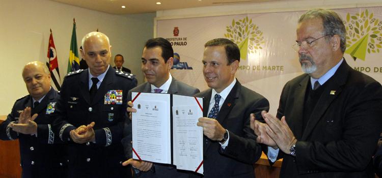 Ministério da Defesa, FAB e Prefeitura de SP firmam acordo para criação do Parque Campo de Marte