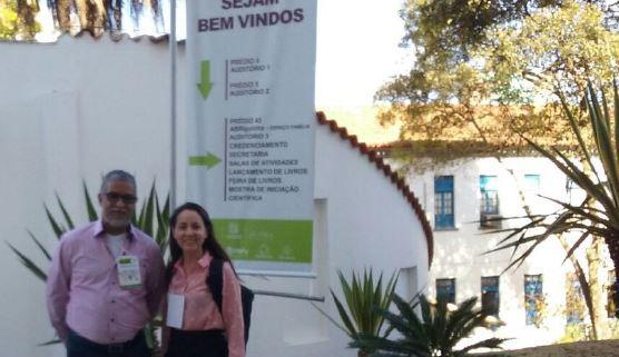 Profª Selma Gonzales da ESG Brasília e Prof Pedro Fonseca Junior da ESG Rio