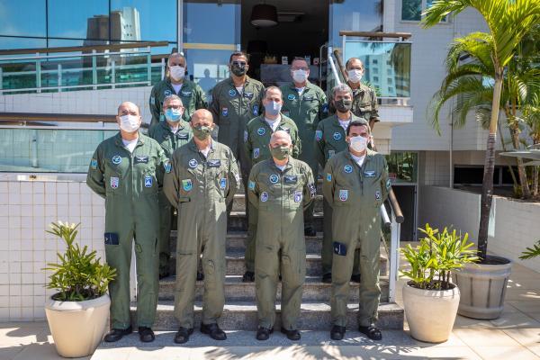 Comandante da Aeronáutica participa da Reunião de Diretores de Organizações do COMGAP