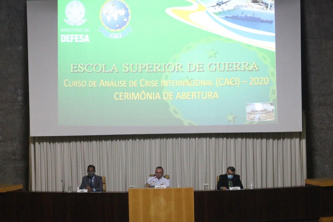 Campus Brasília da ESG inicia Curso de Análise de Crises Internacionais
