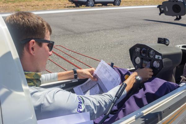 Esquadrilha de Voo a Vela da AFA participa do Campeonato Brasileiro de Voo em Planadores