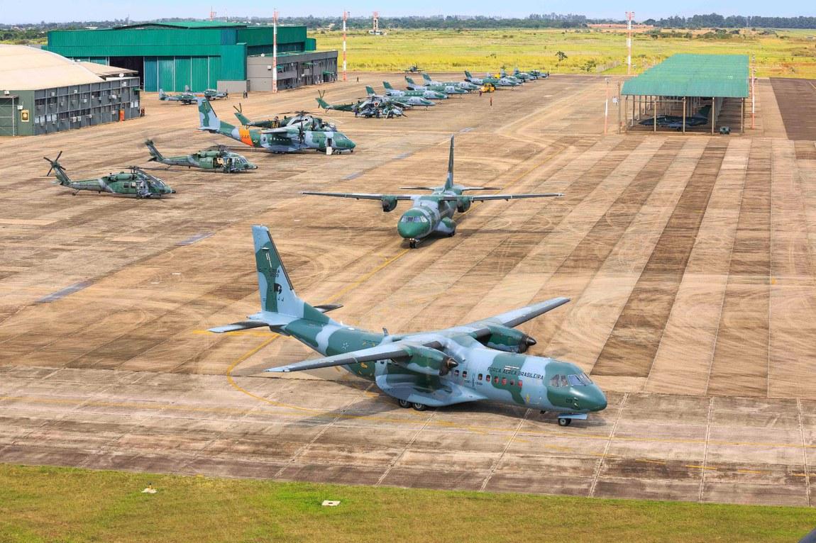Exercício operacional garante emprego de militares e aeronaves em diversas missões