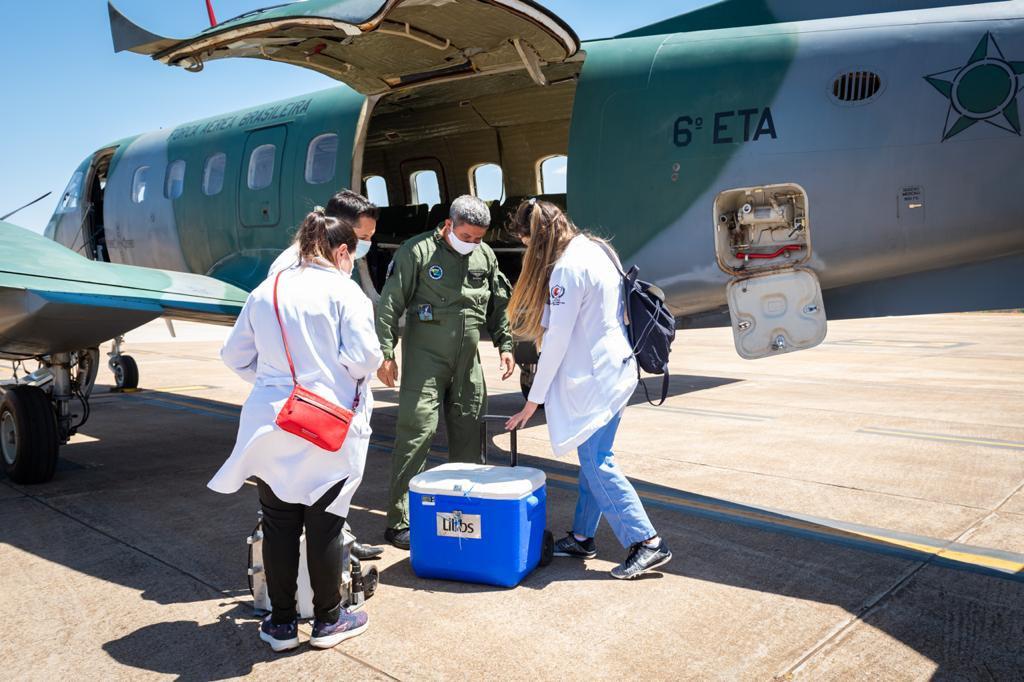 Militares se mantêm disponíveis permanentemente para transporte de órgãos