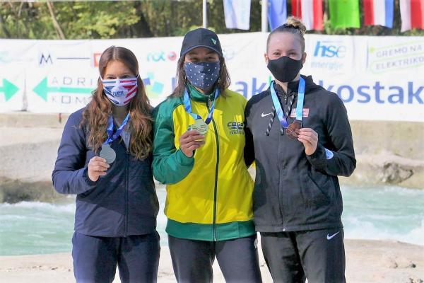 Atleta da FAB conquista título inédito para o Brasil na Copa do Mundo de Canoagem Slalom
