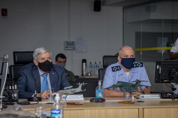 COMAE recebe visita de Comitiva do Gabinete de Segurança Institucional da Presidência