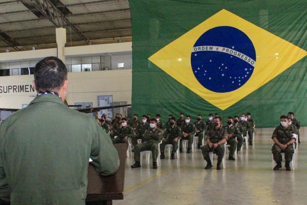 Esquadrão Escorpião celebra 25 anos com homenagens e histórias