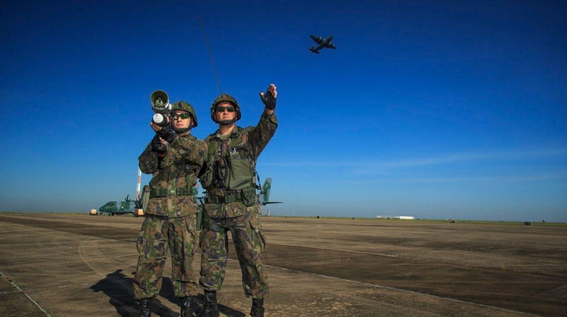 Forças Armadas iniciam exercício para defesa antiaérea