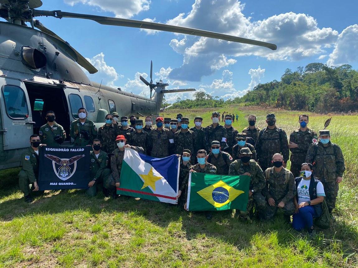 Integrantes da Missão Roraima II prestam 2.740 atendimentos a Yanomamis