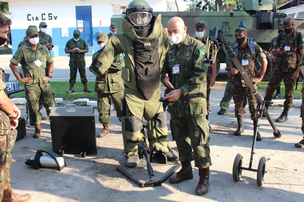 Militares finalizam adestramento conjunto de Defesa Biológica, Nuclear, Química e Radiológica