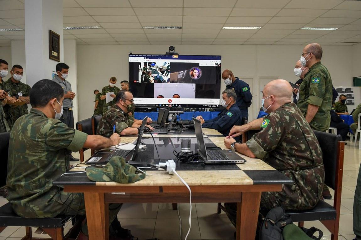 Militares finalizam Exercício de Resposta à Emergência Nuclear