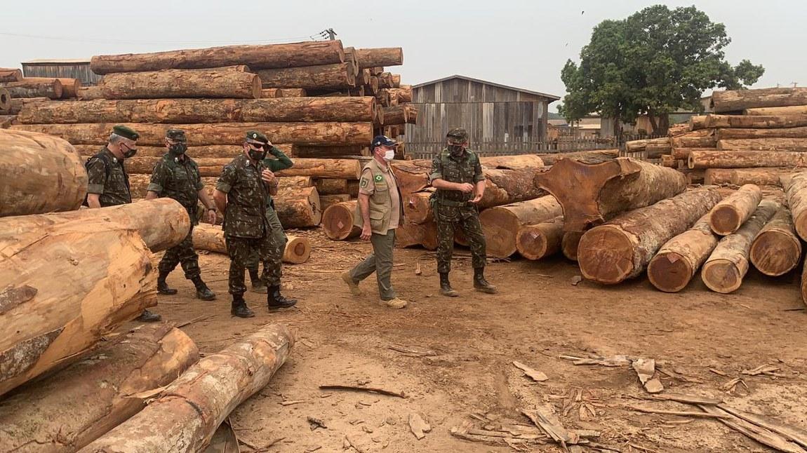 Ministro da Defesa enfatiza contribuição da Operação Verde Brasil 2 em queda do desmatamento