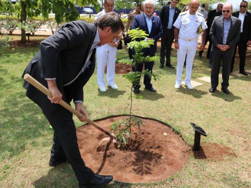 Presidente da República, Ministros e autoridades visitam o Centro Experimental ARAMAR