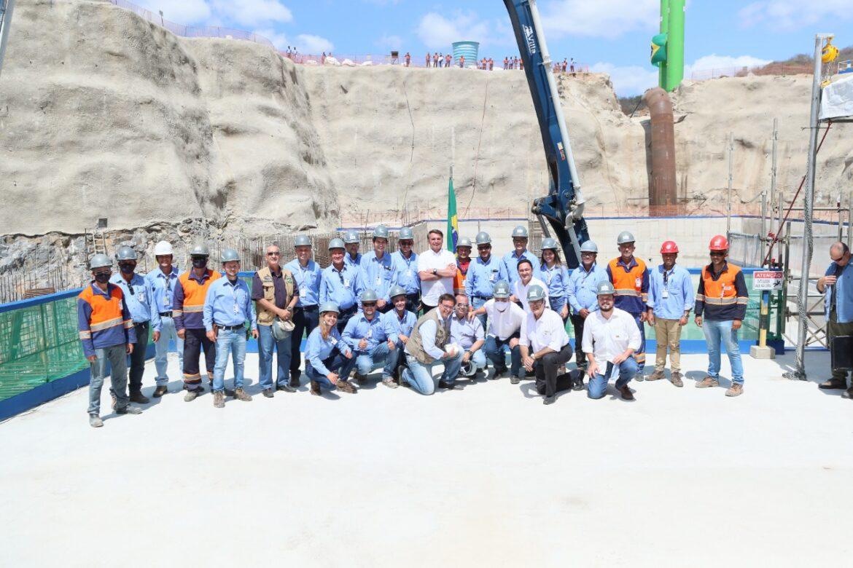 Presidente Bolsonaro inaugura nova etapa de Sistema do Pajeú e visita as obras do Ramal do Agreste, em Pernambuco