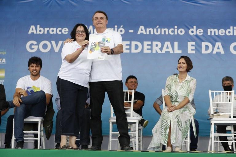 Presidente Jair Bolsonaro cumpre agenda em Breves – Pará