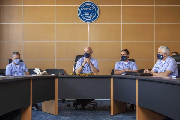 SEFA reune futuros Comandantes de Bases Aéreas e Chefes de Grupamentos de Apoio