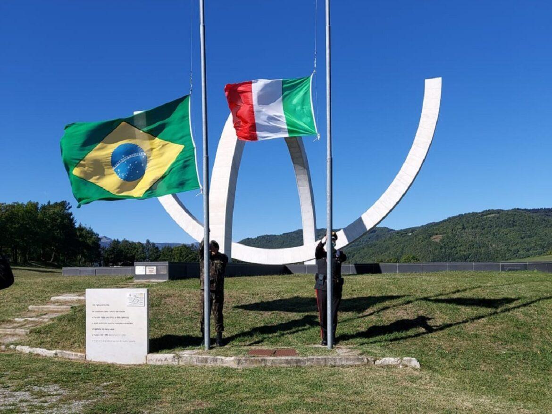 Cerimônias em homenagem aos heróis da FEB na província italiana de Bolonha