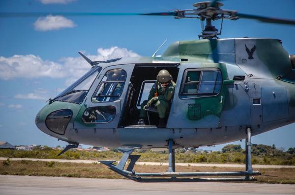 Esquadrão Gavião realiza exercício operacional Gavião Real