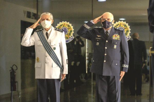 Força Aérea Brasileira realiza despedida de Oficial-General