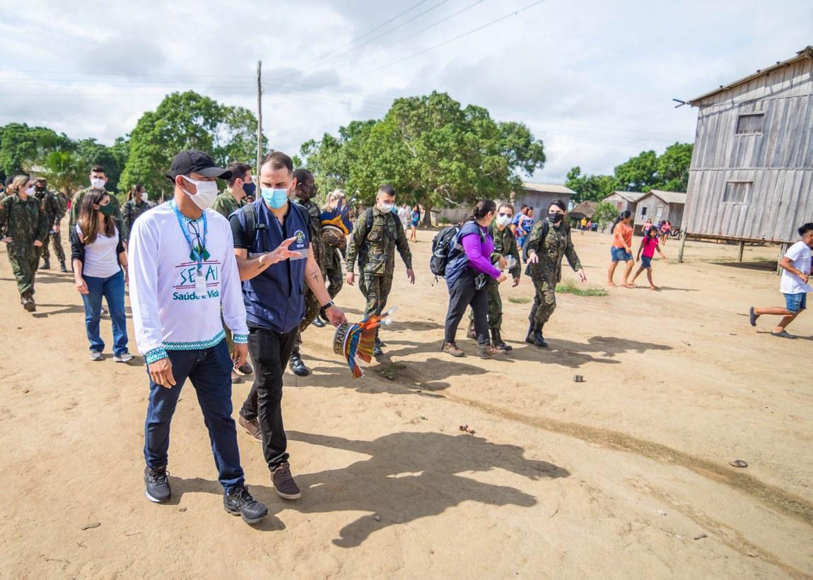 Atendimento médico em aldeias indígenas previne contra novo coronavírus