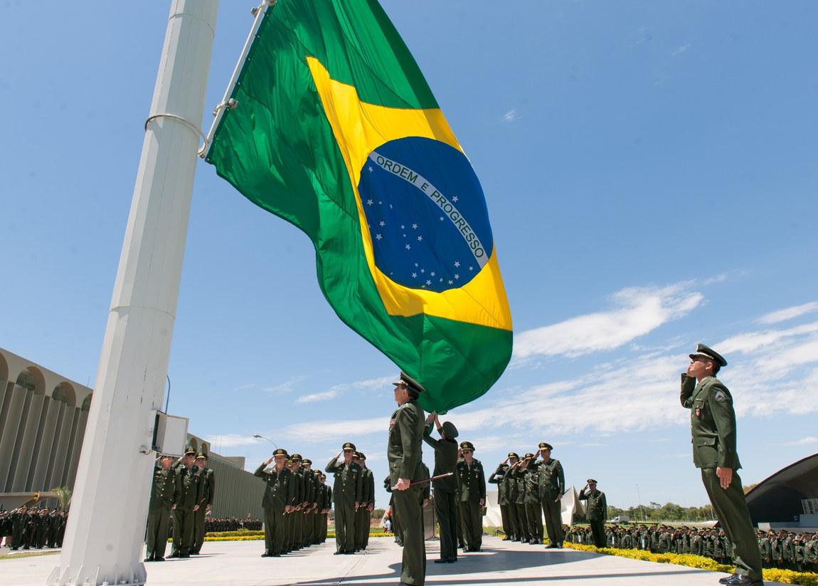Bandeira Nacional, símbolo da Pátria, completa 131 anos