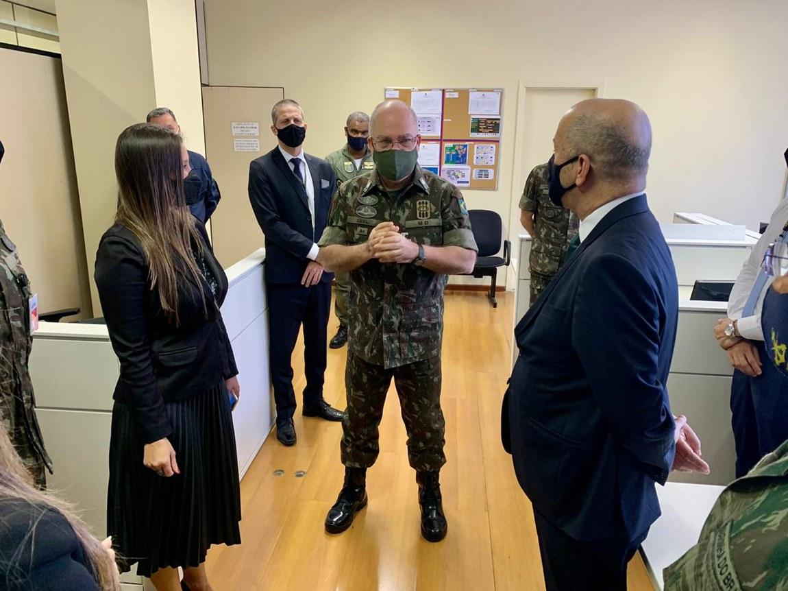 Eleições 2020: Diretor-Geral do TSE acompanha atuação do Centro de Operações Conjuntas, na Defesa