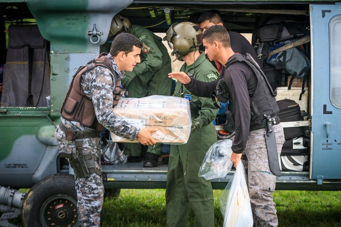 Eleições 2020: Forças Armadas atuarão em GVA em 602 localidades e em locais de difícil acesso