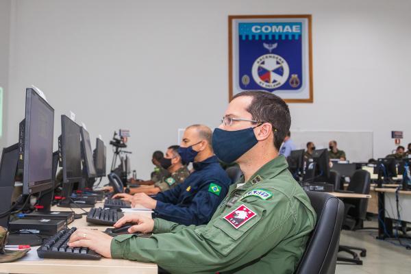 FAB coordena Operação Escudo Antiaéreo