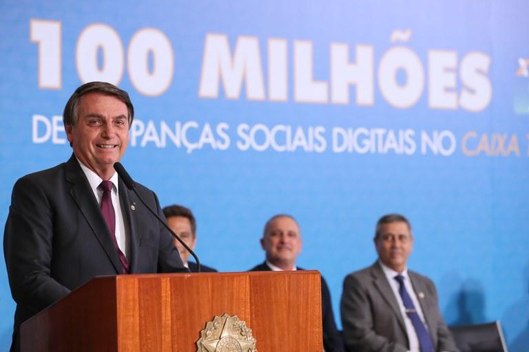 Poupança Social Digital atinge a marca de 100 milhões de contas abertas