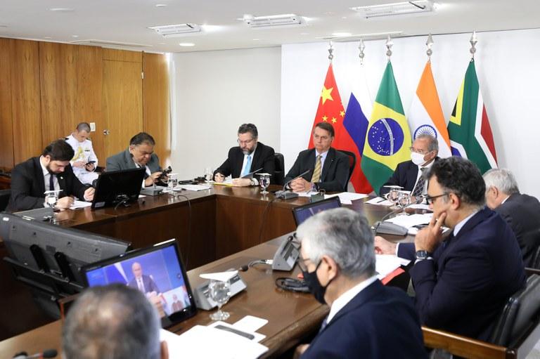 Presidente Bolsonaro defende reforma em organismos internacionais