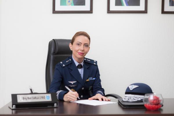 Primeira Oficial-General da Força Aérea Brasileira