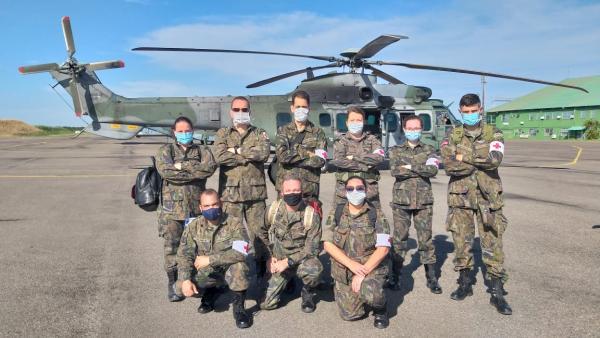 Militares da saúde da Força Aérea Brasileira atuam na Missão Roraima II