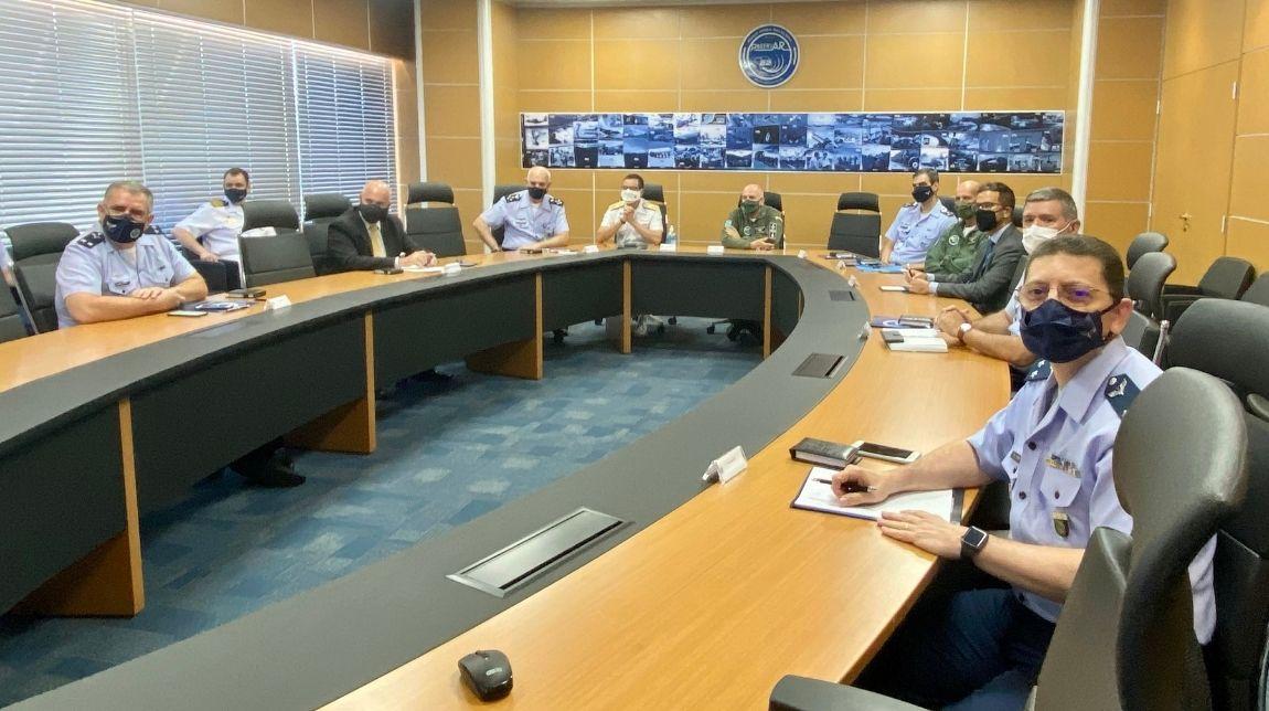 Secretário-Geral do MD conhece Observatório da Secretaria de Economia, Finanças e Administração da Aeronáutica