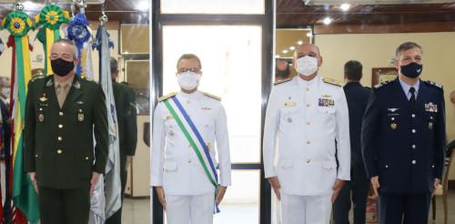 Condecoração da Ordem do Mérito da Defesa é realizada no Comando do 2º Distrito Naval