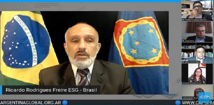 ESG participa de fórum internacional sobre os desafios estratégicos da Segurança Nacional