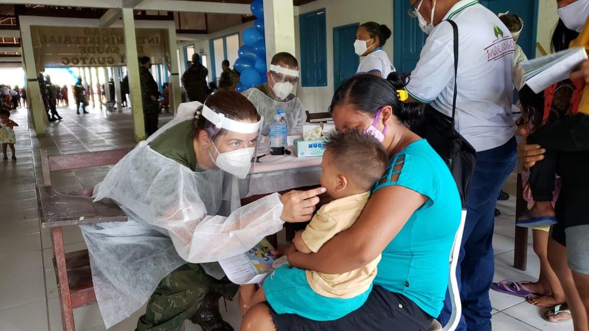 Forças Armadas levam assistência médica aos brasileiros que vivem em áreas remotas do país