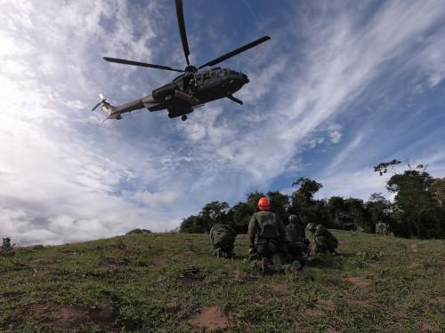 Força de Fuzileiros da Esquadra realiza exercício de apoio à Defesa Civil