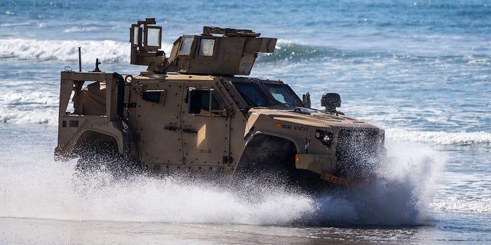 Marinha do Brasil adquire novas viaturas para o Corpo de Fuzileiros Navais